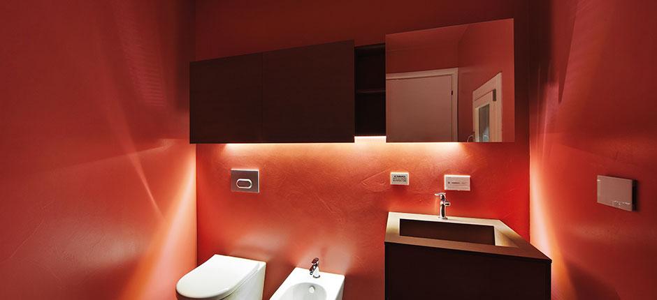 colori accesi bagno resinofacile